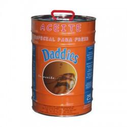 Aceite alto rendimiento 25 litros  Daddies