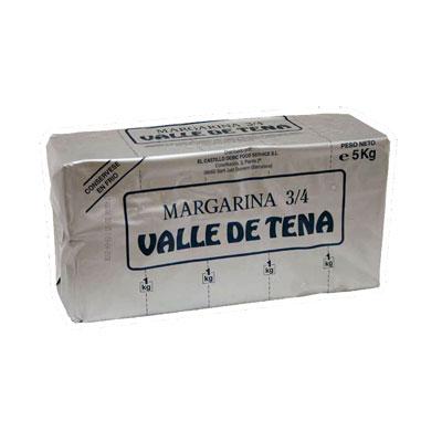 Margarina vegetal 3/4 Valle de Tena