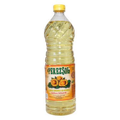 Aceite refinado de girasol 1 litro Perezsol