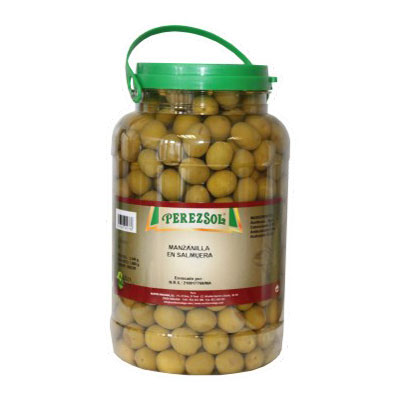 Aceituna manzanilla Perezsol Con hueso