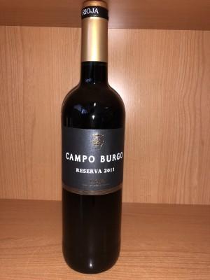 Vino Campo Burgo Reserva2011 75cl