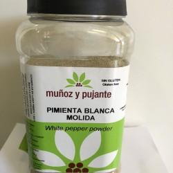 Pimienta Blanca Molida Muñoz y Pujante