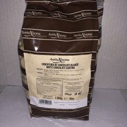 AntiuXixona Cobertura de Chocolate Blanco