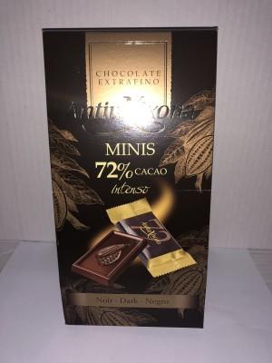 Antiu Xixon Minis 72% cacao intenso