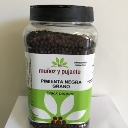 Pimienta Negra en Grano Muñoz y Pujante
